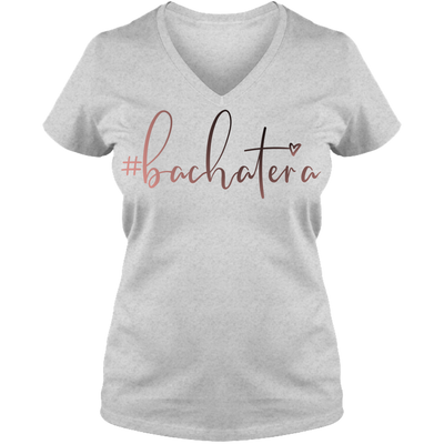 #Bachateras😍 Ladies V Neck Tee