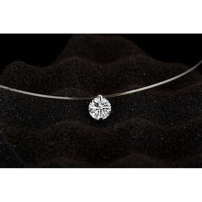 925 Sterling Silver Short Clavicle Choker