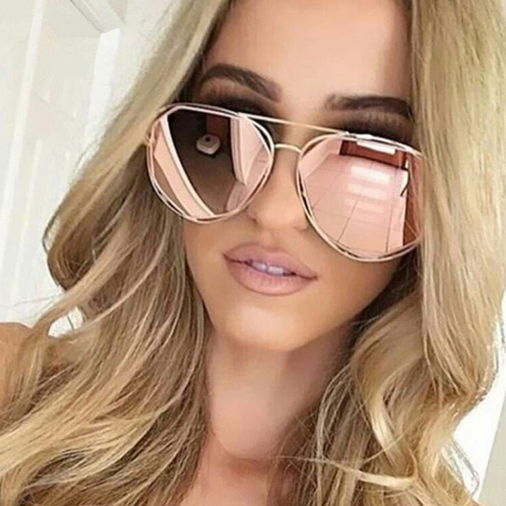 Designer Aviator Sunglasses