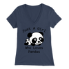 Panda Lover Bella Women V-Neck