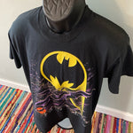 1988 Batman Superhero Vintage Shirt DC Comics Large