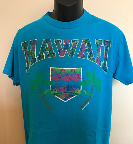 80s Hawaii Turtle Bay Shirt