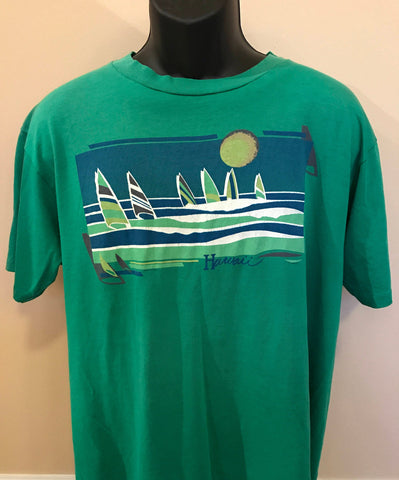 80s Hawaii Sailing Shirt