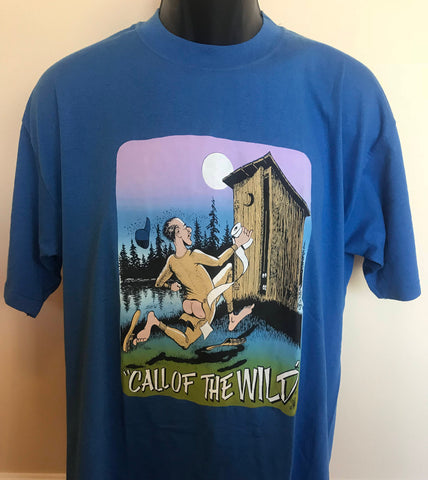 80s Call of the Wild Camping Shirt