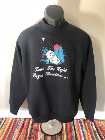 80s Christmas Bear Sweatshirt