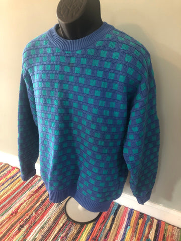 70s IZOD Pattern Ski Sweater