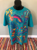 90s Neon Shapes Shirt