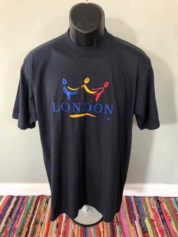 1996 London Tourist Travel Shirt