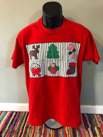 1992 Christmas Patch Shirt