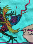 1991 Chinese Dragon Lizard Shirt