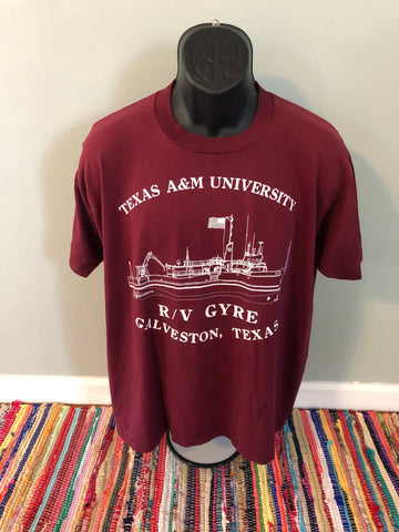 80s Texas A&M University Shirt