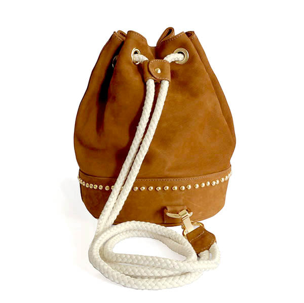 Nabuk Deva Bucket Backpack