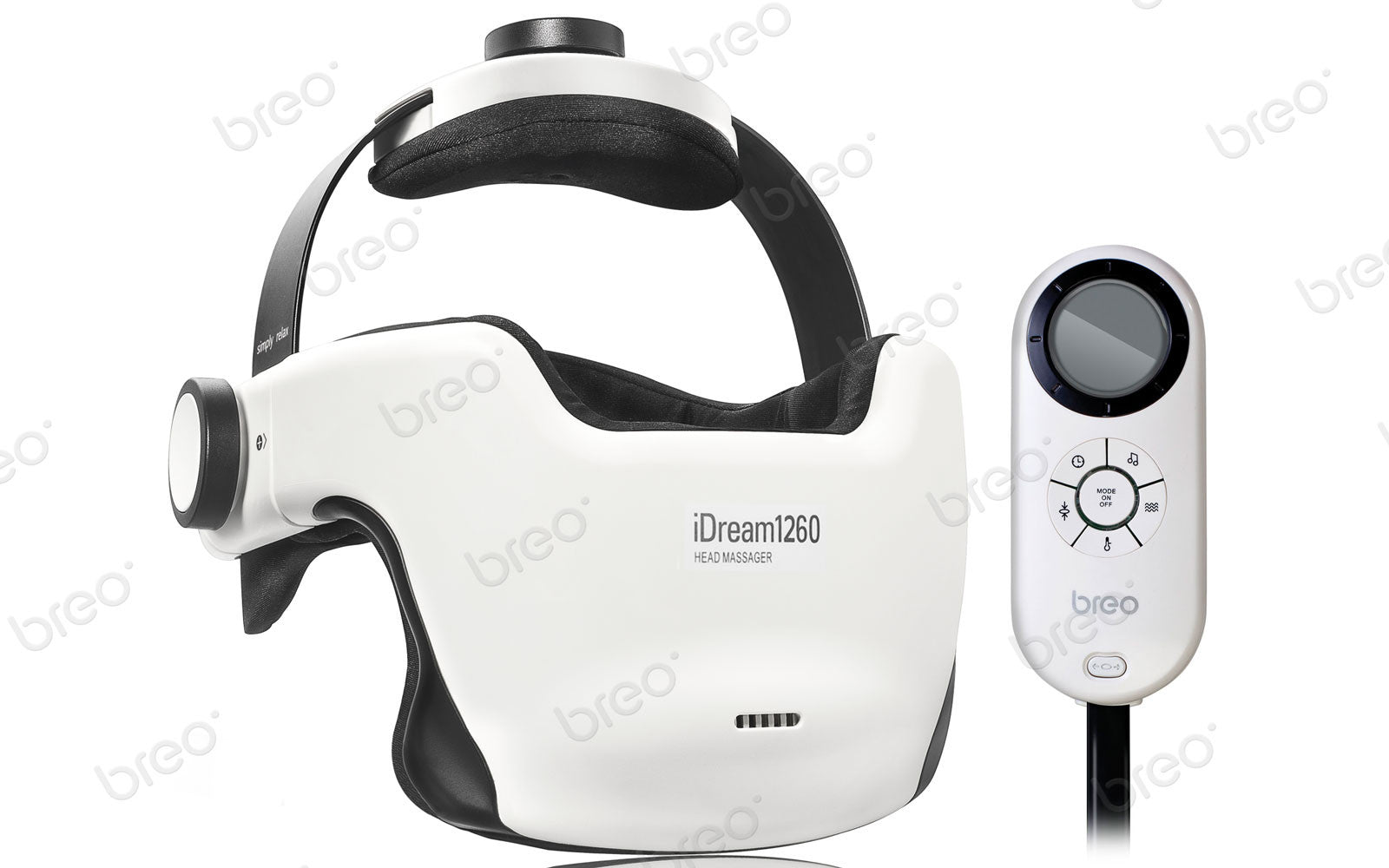 Breo iDream1260 Eye & Head Massager - Breo-USA
