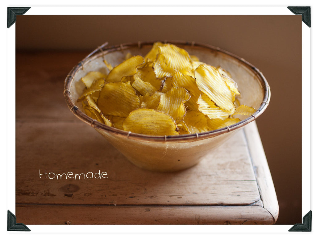 Make Your Own Potato & Vege Chips At Home
