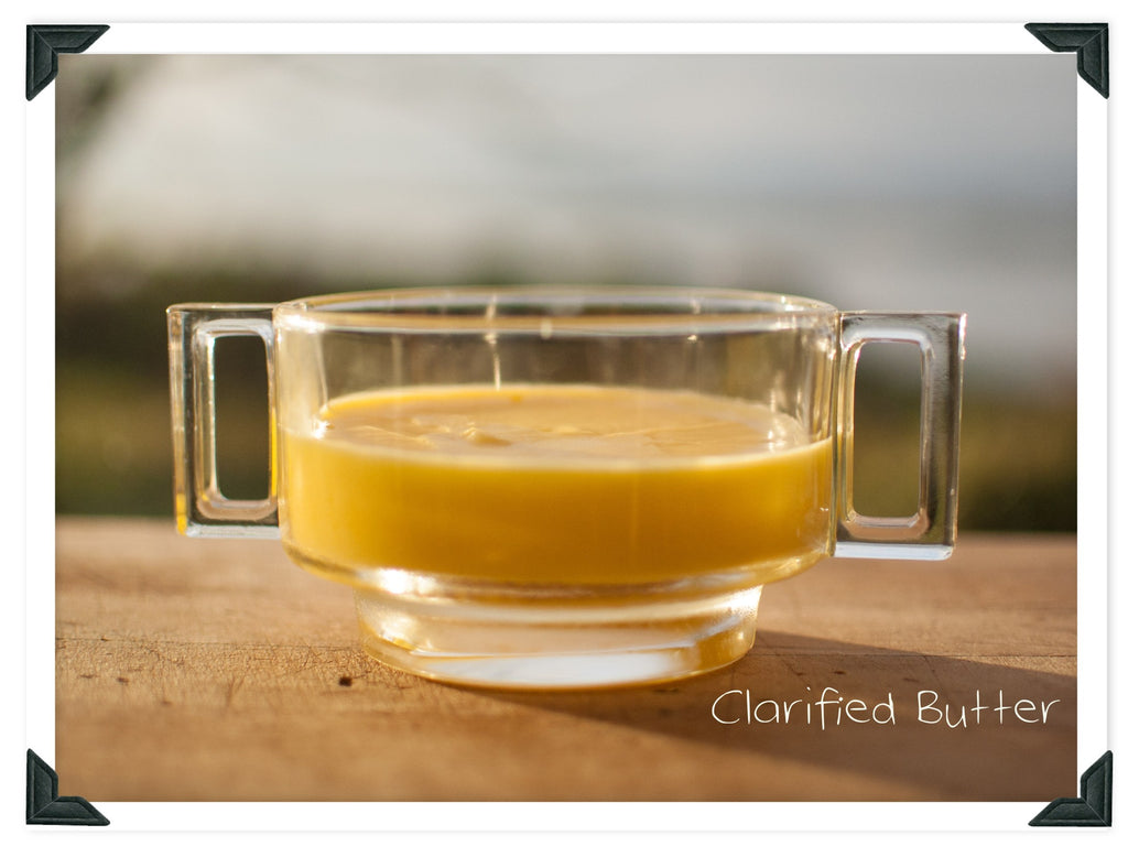 Making Clarified Butter or Ghee