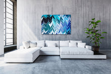 Load image into Gallery viewer, Blue Crossing 2 Wall Art