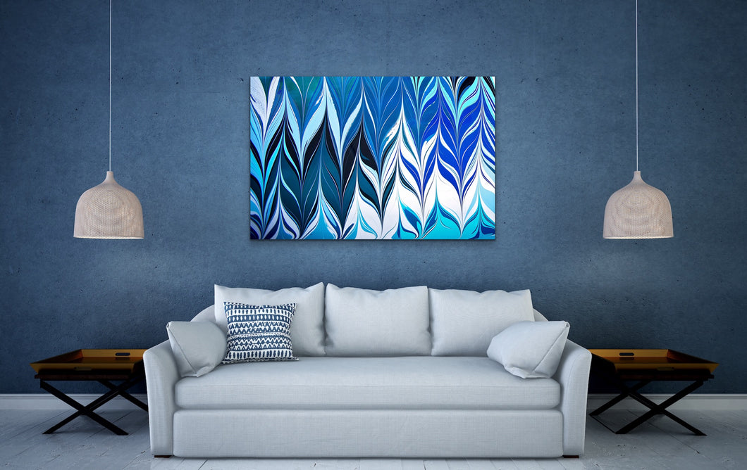 Blue Crossing 3 Wall Art