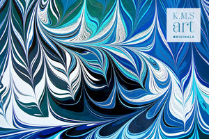 Blue Crossing 4 Wall Art
