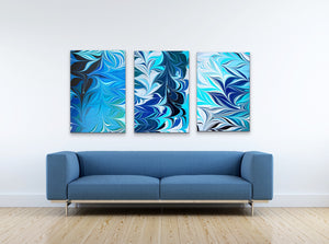 Blue Crossing 1 Wall Art