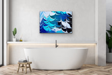 Load image into Gallery viewer, Blue Crossing 7 Wall Art