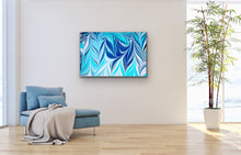 Load image into Gallery viewer, Blue Crossing 8 Wall Art