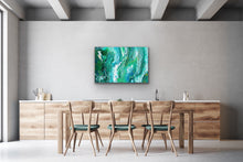 Load image into Gallery viewer, Green Horizon Wall Art