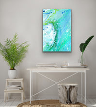 Load image into Gallery viewer, Green Fire Rock 1 Wall Art