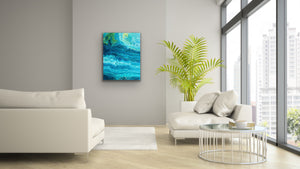 Triple Blue Yellow 1 Wall Art