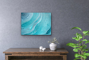 Aqua Rings Original Painting