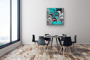 Aqua Plum 4 Wall Art