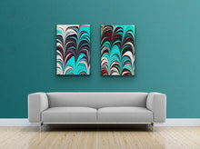 Load image into Gallery viewer, Aqua Plum 1 Wall Art
