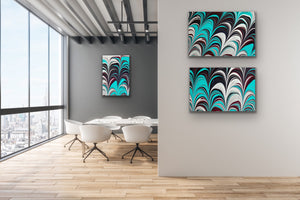 Aqua Plum 2 Wall Art