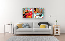 Load image into Gallery viewer, Black Hearts Square 3 Wall Art