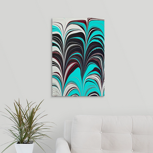 Aqua Plum 1 Wall Art
