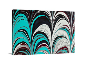 Aqua Plum 3 Wall Art
