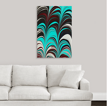 Load image into Gallery viewer, Aqua Plum 5 Wall Art