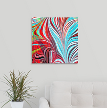 Load image into Gallery viewer, Blue Arrow Square 2 Wall Art