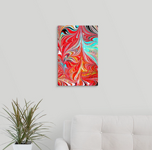 Load image into Gallery viewer, Red Stab 2 Wall Art