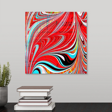 Load image into Gallery viewer, Red Stab Square 3 Wall Art