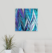 Load image into Gallery viewer, White Whispers Square 1 Wall Art