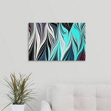 Load image into Gallery viewer, Blue Black Seaweed 4 Wall Art