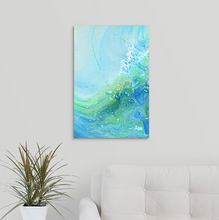 Load image into Gallery viewer, Green Fire Rock 2 Wall Art