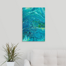 Load image into Gallery viewer, Triple Blue Yellow 2 Wall Art