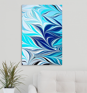 Blue Crossing 7 Wall Art
