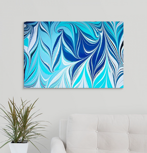 Blue Crossing 8 Wall Art