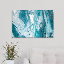 Load image into Gallery viewer, Grainy Water Wall Art