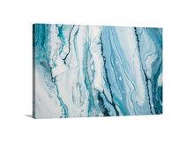 Load image into Gallery viewer, Aqua Marble Wall Art