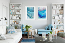Load image into Gallery viewer, Blue Gray Rose 1 Wall Art