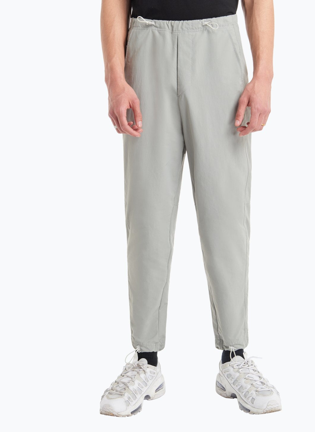 Drawstring Pants in Grey Technical Fabric