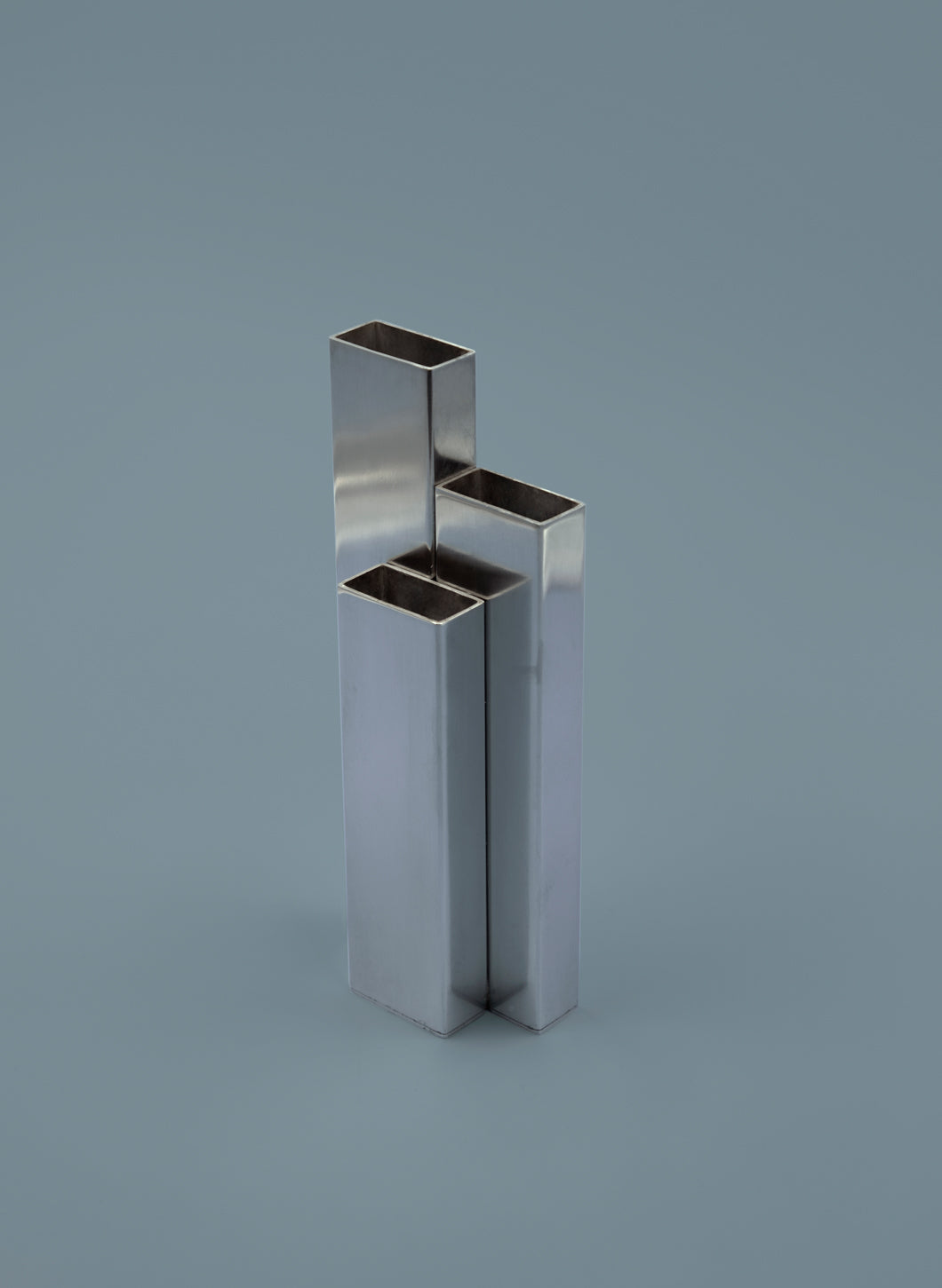 Triglyph Stainless Steel Vase